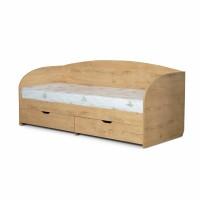 """Кровать односпальная """"Норд"""" с ящиками (80 х 190)"""