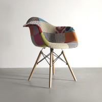 "Кресло ""Eames DAW"" patchwork"
